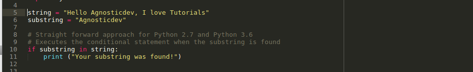 check if string contains substring python