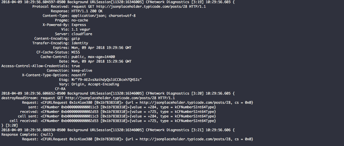 Advanced Network Debugging in Xcode   Agnostic Development