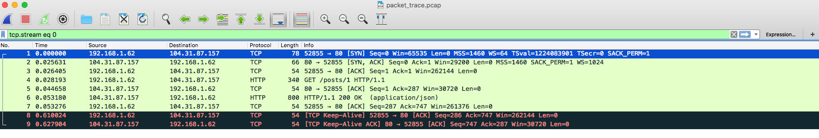Capturing a Packet Trace from an iOS Device | Agnostic