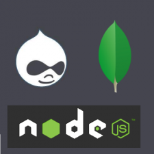 Drupal, MongoDB, and NodeJS